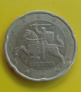20 EURO CENT COIN OF LITHUANIA 2017