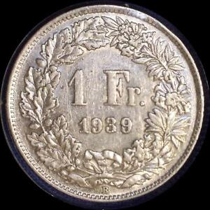 Click now to see the BUY IT NOW Price! SWITZERLAND 1939 1 FRANC OLD WORLD SILVER COIN HIGH GRADE