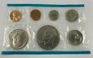 1974 UNCIRCULATED US MINT SET SEALED HAS EXTRA 1974 S PENNY