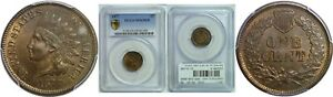 Click now to see the BUY IT NOW Price! 1877 INDIAN HEAD CENT PCGS MS 65 RB