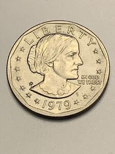Click now to see the BUY IT NOW Price! 1979 P SUSAN B. ANTHONY DOLLAR NARROW RIM FAR DATE