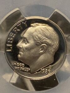 Click now to see the BUY IT NOW Price! 1985 S TYPE II S SILVER ROOSEVELT DIME PCGS PR69DCAM