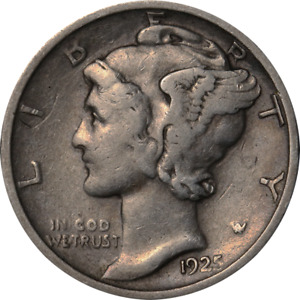 1925 D MERCURY DIME GREAT DEALS FROM THE EXECUTIVE COIN COMPANY
