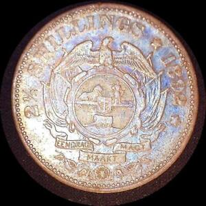 Click now to see the BUY IT NOW Price! SOUTH AFRICA 1892 2 1/2 SHILLINGS OLD WORLD SILVER COIN HIGH GRADE TONED