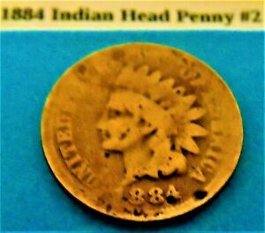 1884 INDIAN HEAD PENNY 2
