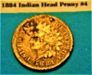 1884 INDIAN HEAD PENNY  4