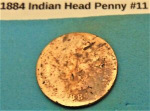 1884 INDIAN HEAD PENNY  11