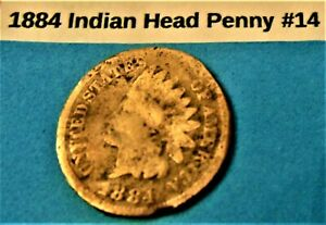 1884 INDIAN HEAD PENNY 14