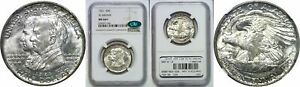 Click now to see the BUY IT NOW Price! 1921 ALABAMA SILVER COMMEMORATIVE NGC MS 66  CAC
