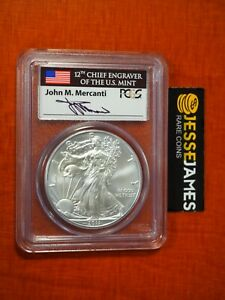 Click now to see the BUY IT NOW Price! 2011 SILVER EAGLE PCGS MS70 FLAG MERCANTI FIRST STRIKE FROM 25TH ANNIVERSARY SET