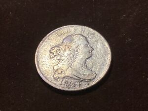 3 1804 CROSSLET 4 WITH STEMS DRAPED BUST HALF CENT