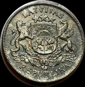 Click now to see the BUY IT NOW Price! LATVIA 1926 2 LATI OLD SILVER WORLD COIN HIGH GRADE