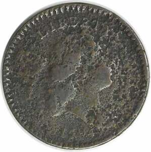 1794 HALF CENT VG  CORRODED  UNCERTIFIED 957
