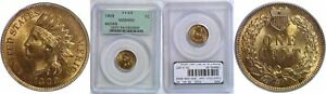 1909 INDIAN HEAD CENT PCGS MS 64 RD