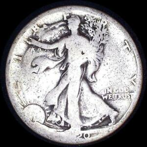 Click now to see the BUY IT NOW Price! USA 1920 S WALKING LIBERTY 50 CENT SILVER COIN