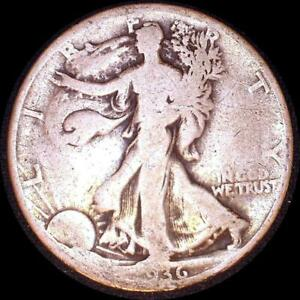 Click now to see the BUY IT NOW Price! USA 1936 D WALKING LIBERTY 50 CENT SILVER COIN