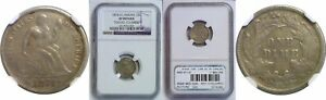 Click now to see the BUY IT NOW Price! 1874 CC SEATED LIBERTY DIME NGC GENUINE ARROWS