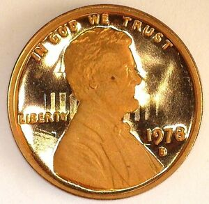 1978 S LINC. 1 PROOF CLASHED DIES
