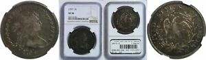 1797 BUST DOLLAR NGC VF 30 9X7 STARS LARGE LETTERS