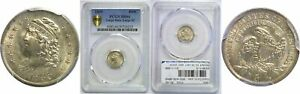 Click now to see the BUY IT NOW Price! 1835 BUST HALF DIME PCGS MS 66 LARGE DATE LARGE 5C