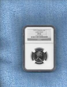 Click now to see the BUY IT NOW Price! 1973 CANADA TWENTY FIVE CENTS LARGE BUST NGC SP 66
