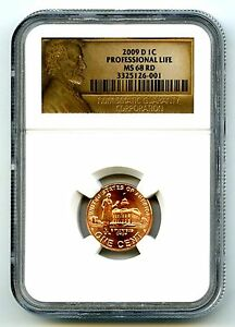 Click now to see the BUY IT NOW Price! 2009 D US MINT CENT PROFESSIONAL LIFE NGC MS68 RD ONLY 2 KNOWN TOP POPULATION