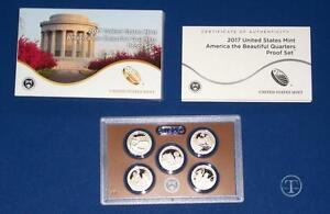 2017 CLAD PROOF QUARTER SET   WITH BOX/COA IN STOCK