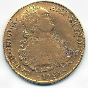 Click now to see the BUY IT NOW Price! CARLOS IV 8 SHIELDS 1791 POTOSI P.R.
