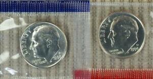 1994 P&D IN MINT CELLO ROOSEVELT DIMES   PLEASE READ   VALUE @ CHERRYPICKERCOINS