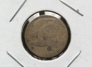 1857 OR 1858  ? DATELESS  FLYING EAGLE ONE CENT U.S. COIN D9602