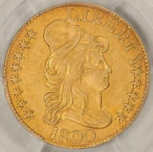 1800 PCGS GENUINE AU DETAILS $5 LIBERTY SURFACES SMOOTHED ITEMT9049