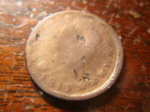 1811 DATED CLASSIC HEAD LARGE CENT NICE REVERSE FTW