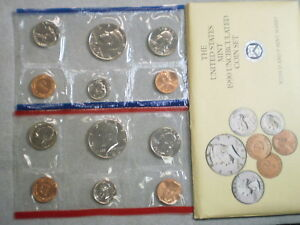 1990 UNITED STATES UNCIRCULATED MINT SET/ ALL ORIGINAL