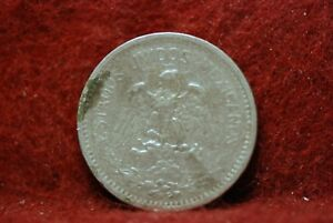 MEXICO 1911  WIDE DATE   5 CENTAVOS KM421 FINE STAINS                 MAB78