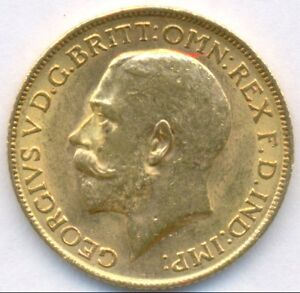 1913GOLD SOVEREIGN GREAT BRITAIN