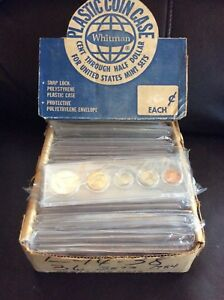 Click now to see the BUY IT NOW Price! 36 SET 1983 1984 UNITED STATES MINT 5 COIN PROOF SETS WHITMAN PLASTIC CASE BOX