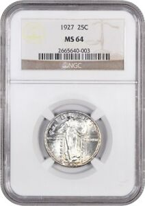 1927 25C NGC MS64   STANDING LIBERTY QUARTER