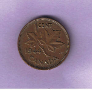 1944 CANADIAN ONE CENT PENNY CIRCULATED