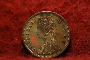 INDIA   BRITISH 1862 1/12 ANNA KM465 A/EF CLEANED RE TONING            2 20