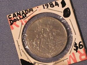 1984  DOLLAR  CANADA   JACQUES CARTIER COMMEMORATIVE  /  NICE