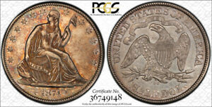 Click now to see the BUY IT NOW Price! 1874 CC 50C ARROWS LIBERTY SEATED HALF DOLLAR PCGS AU 50 ABOUT UNCIRCULATED K