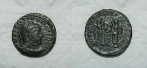 ANCIENT ROME : CONSTANTINE I    BRONZE COIN 4