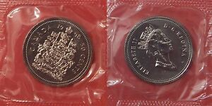 PROOF LIKE 1998W CANADA 50 CENTS SEALED IN CELLO