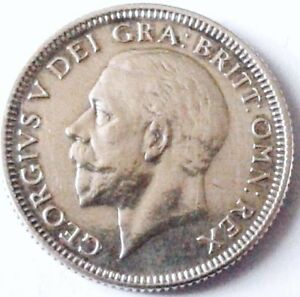 GREAT BRITAIN GEORGE V SHILLING SILVER 1933 .23.7 MM X POIDS 5.63 GRAMMES