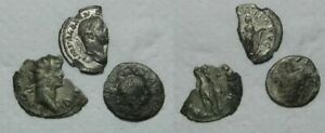 ANCIENT ROME : 3 COINS    SILVER