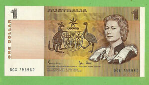 D75  1982   1984 TYPE $1 PAPER  BANKNOTE
