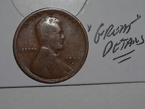 WHEAT PENNY 1917D GREAT DETAILS 1917 D SEMI KEY LINCOLN CENT