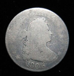 1806 DRAPED BUST SILVER QUARTER