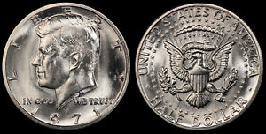 1971 D KENNEDY HALF DOLLAR   BRILLIANT UNCIRCULATED FROM ORIGINAL MINT BAGS