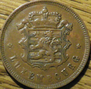 1930 LUXEMBOURG 25 CENTIMES   GREAT COIN   NICE LOOK